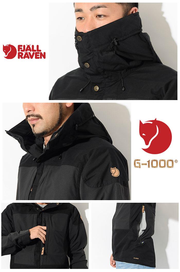 FJALLRAVENフェールラーベンのジャケット Keb07