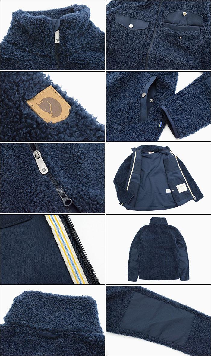 FJALLRAVENフェールラーベンのジャケット Greenland Pile Fleece05