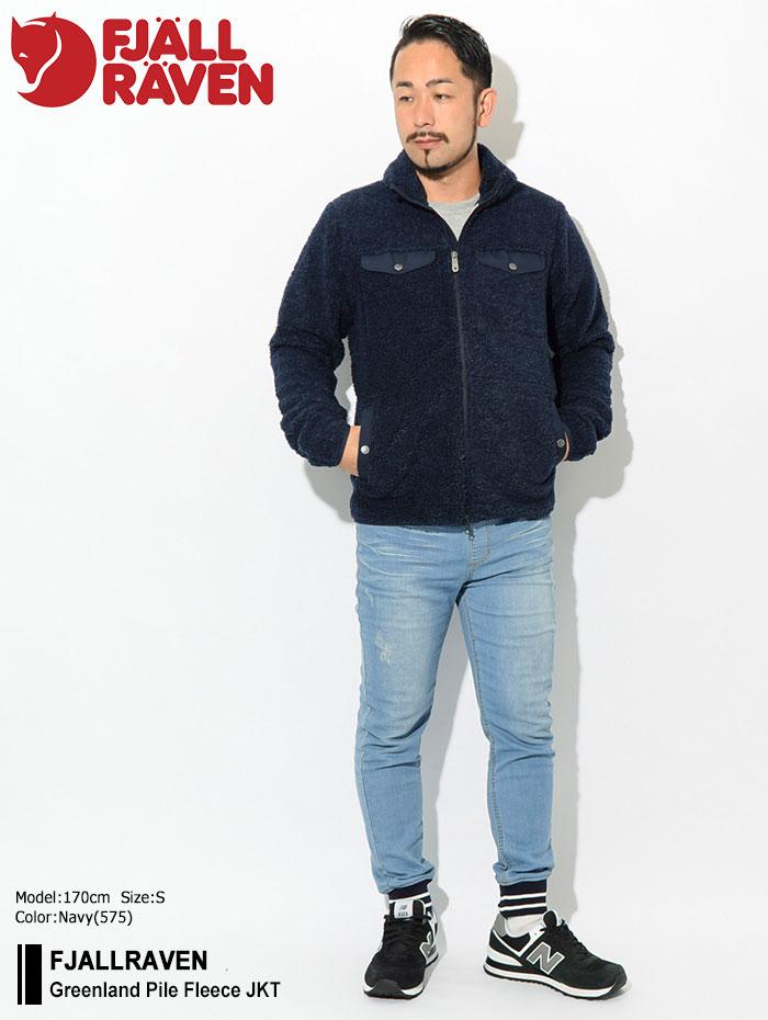 FJALLRAVENフェールラーベンのジャケット Greenland Pile Fleece01