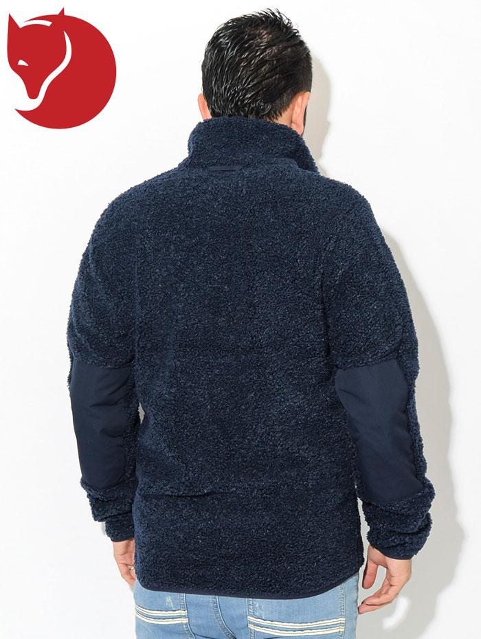 FJALLRAVENフェールラーベンのジャケット Greenland Pile Fleece03