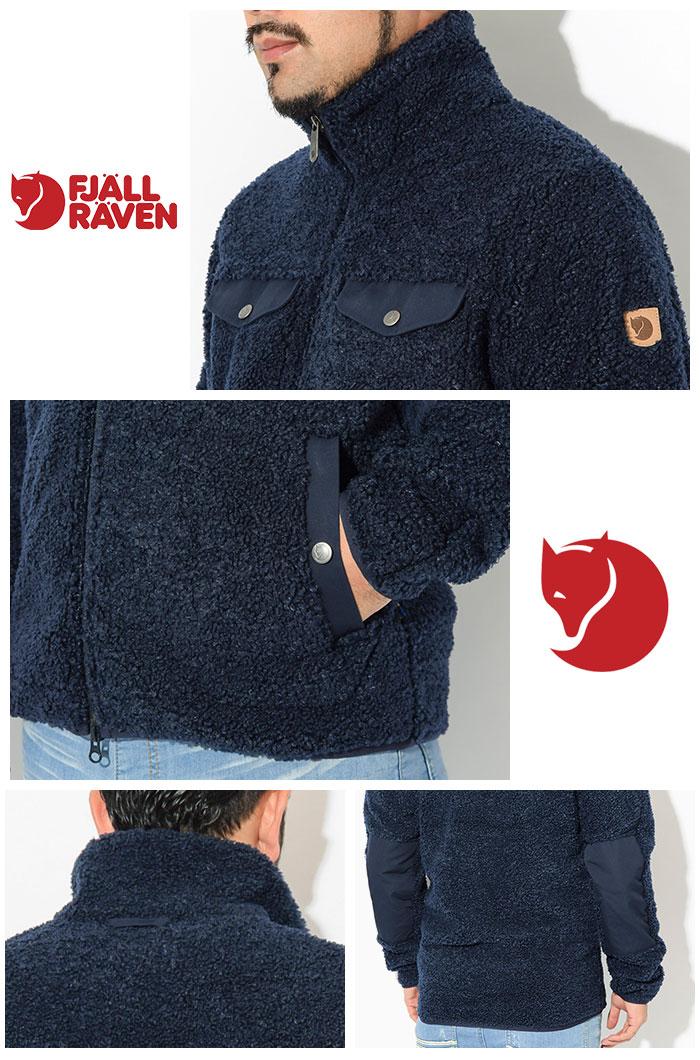 FJALLRAVENフェールラーベンのジャケット Greenland Pile Fleece04