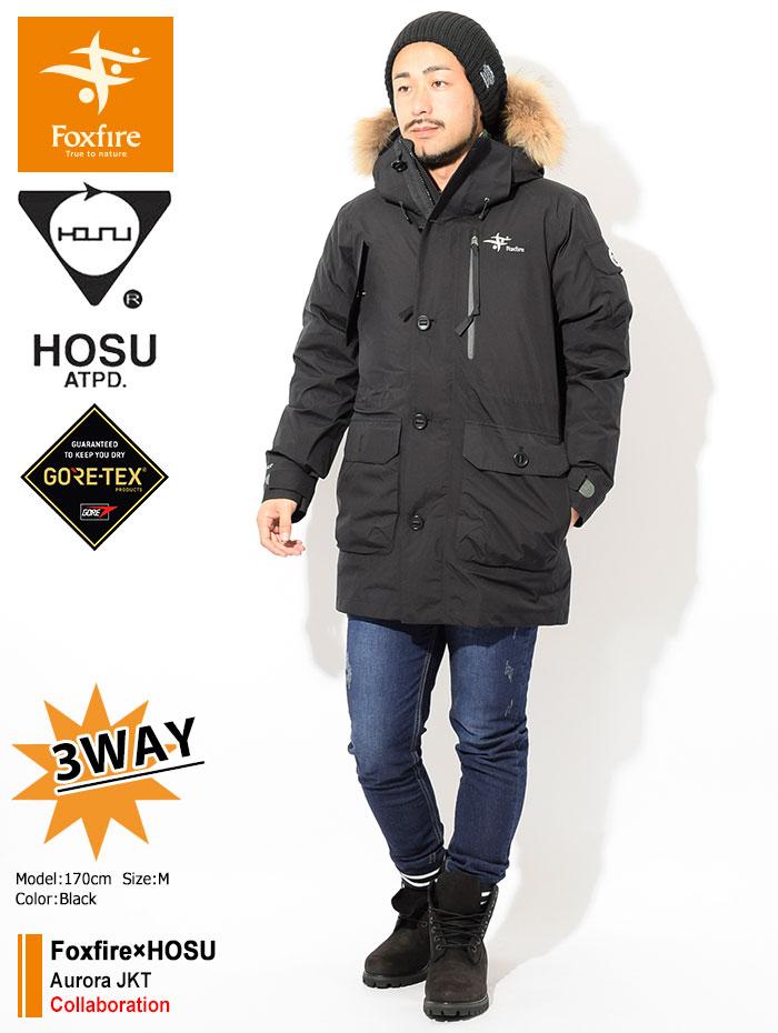 Foxfireフォックスファイヤーのジャケット HOSU Aurora01