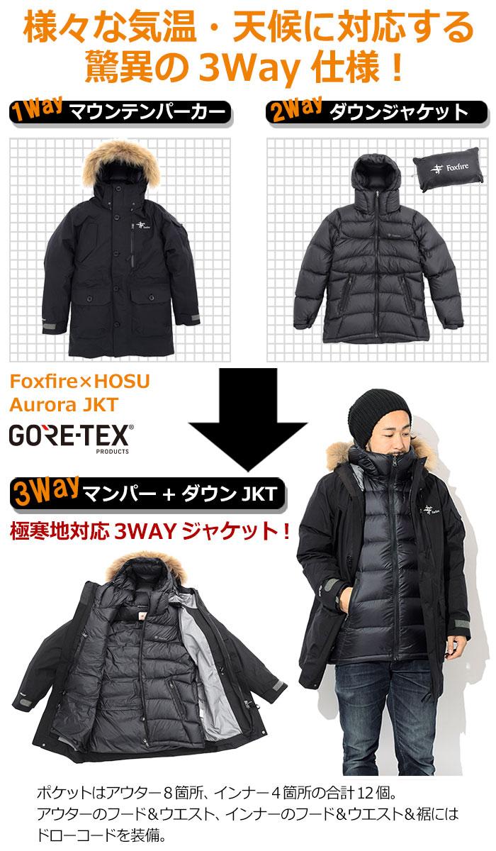 Foxfireフォックスファイヤーのジャケット HOSU Aurora11