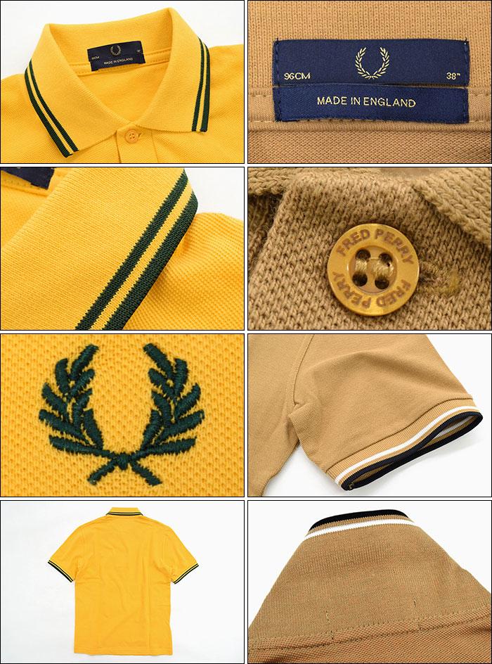 FRED PERRYフレッドペリーのポロシャツ M12N England13