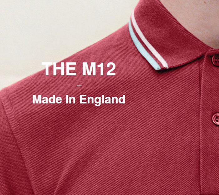 FRED PERRYフレッドペリーのポロシャツ M12N England02