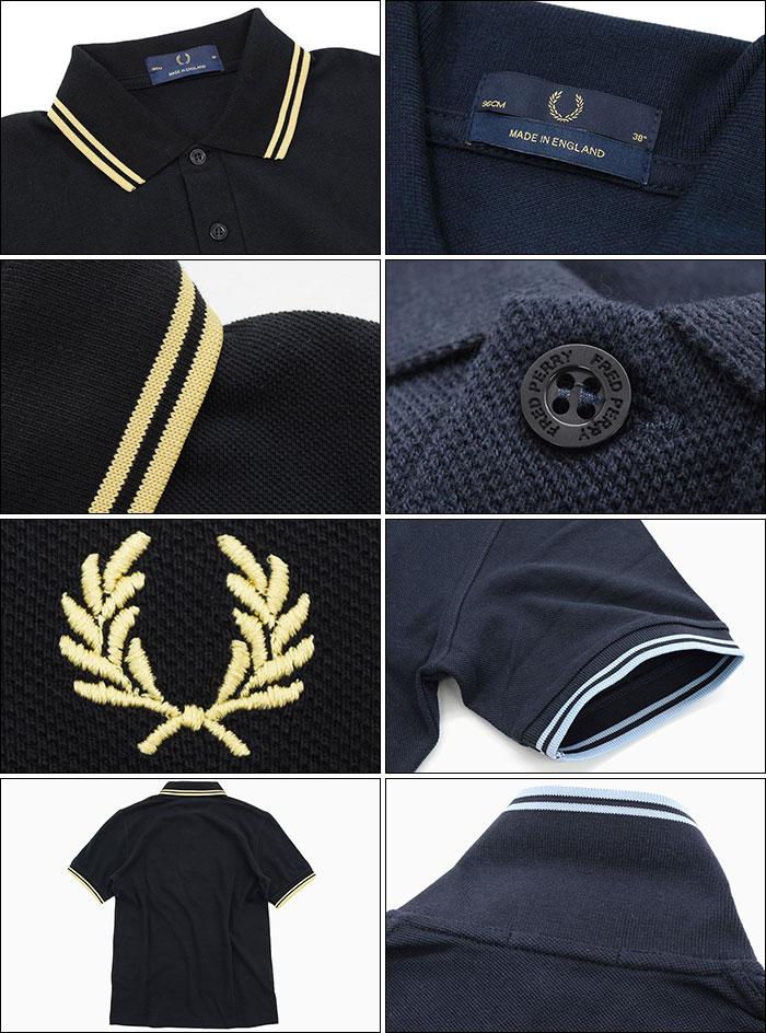 FRED PERRYフレッドペリーのポロシャツ M12N England22