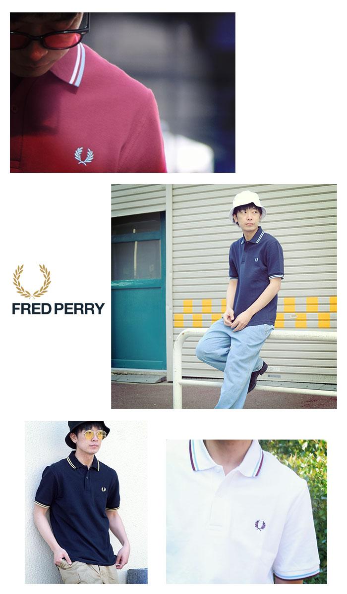 FRED PERRYフレッドペリーのポロシャツ M12N England03