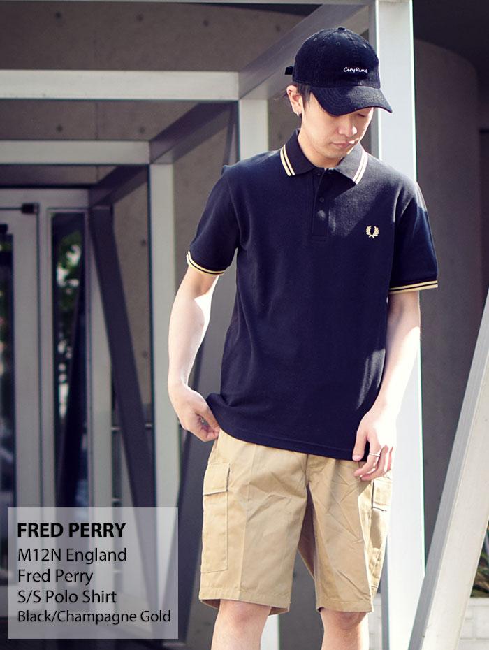 FRED PERRYフレッドペリーのポロシャツ M12N England05