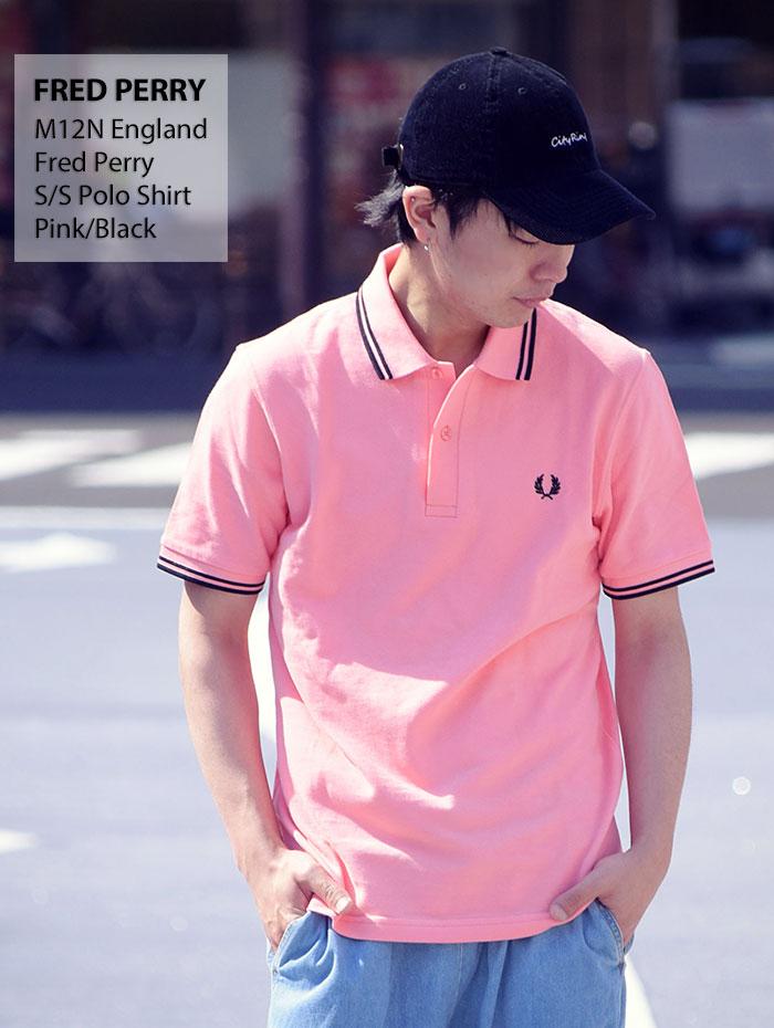 FRED PERRYフレッドペリーのポロシャツ M12N England07