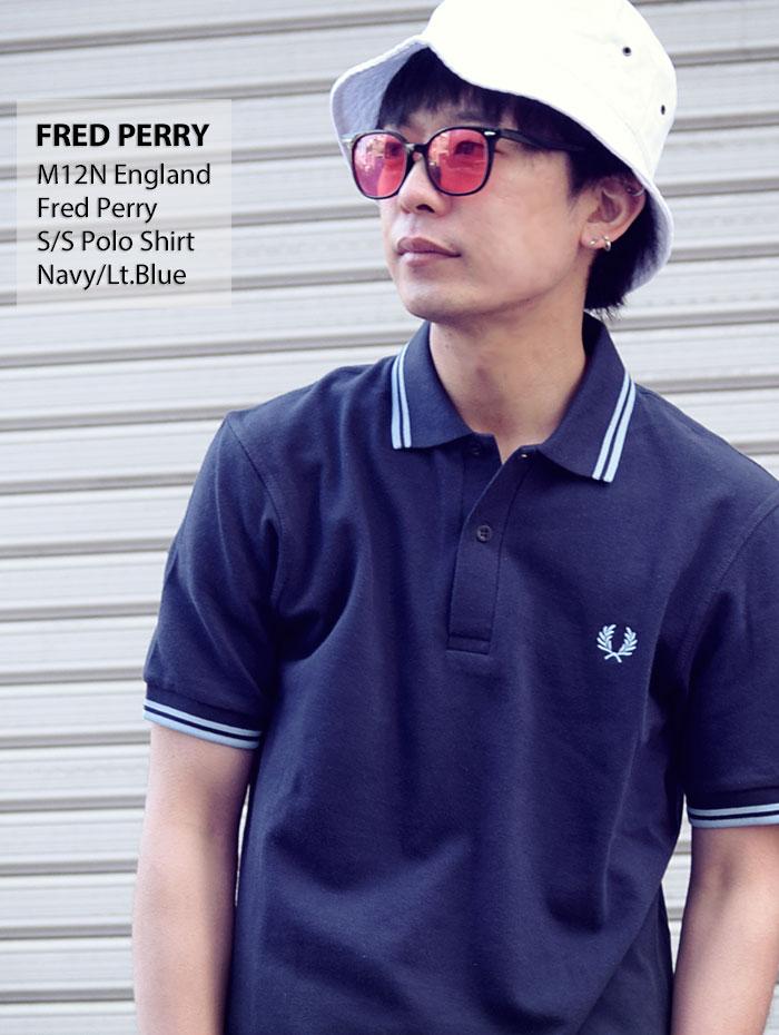 FRED PERRYフレッドペリーのポロシャツ M12N England08