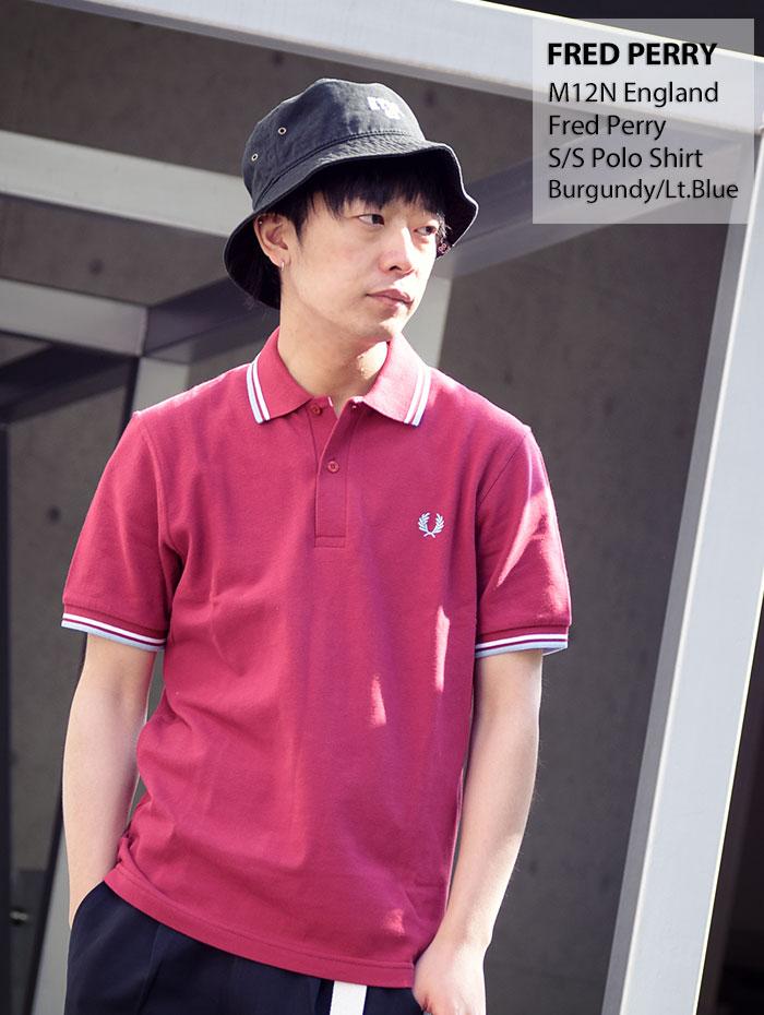 FRED PERRYフレッドペリーのポロシャツ M12N England09