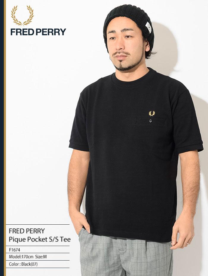 FRED PERRYフレッドペリーのTシャツ Pique Pocket01