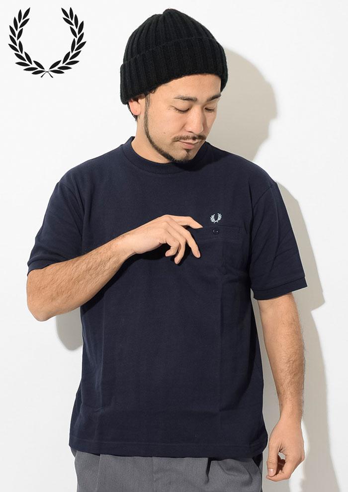 FRED PERRYフレッドペリーのTシャツ Pique Pocket02