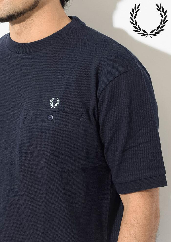 FRED PERRYフレッドペリーのTシャツ Pique Pocket03