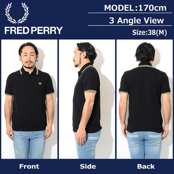 FRED PERRYフレッドペリーのポロシャツ M12N England21