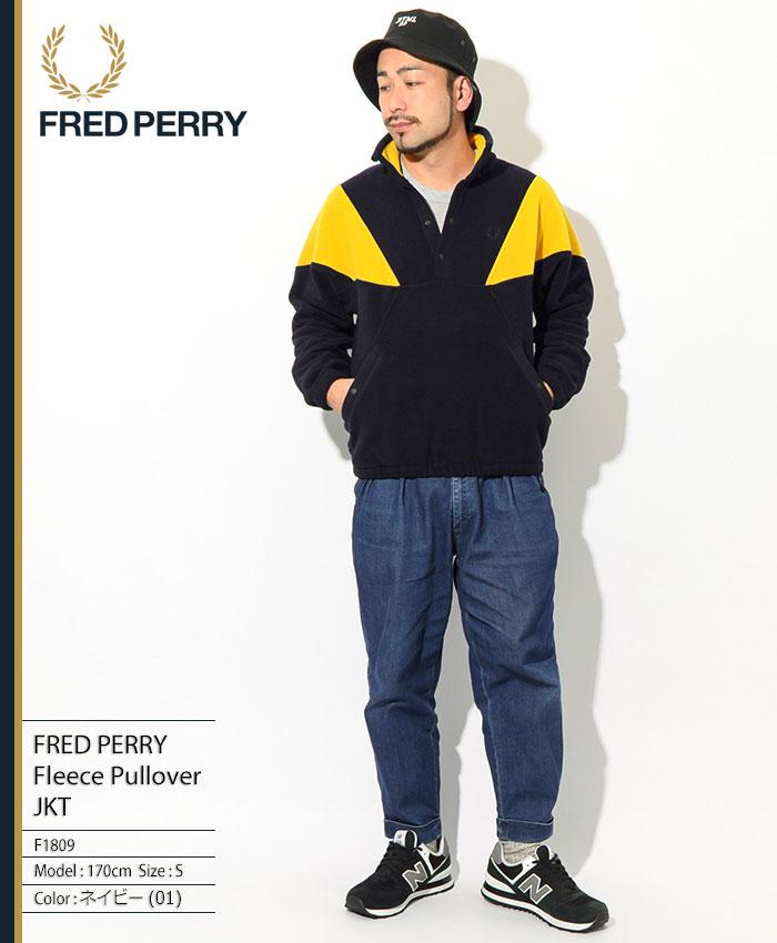 FRED PERRYフレッドペリーのジャケット Fleece Pullover01