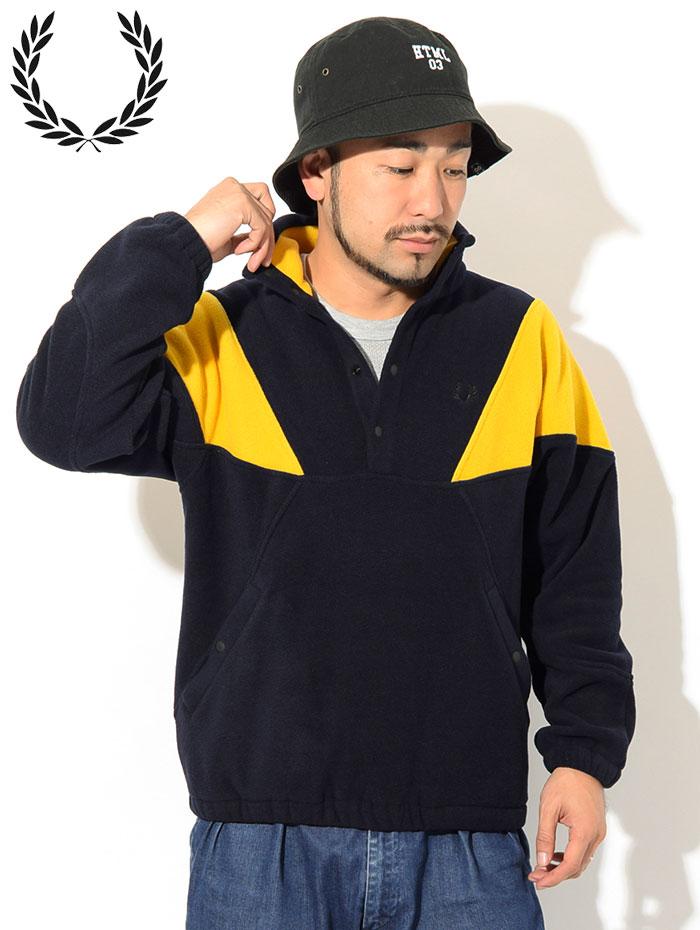 FRED PERRYフレッドペリーのジャケット Fleece Pullover02