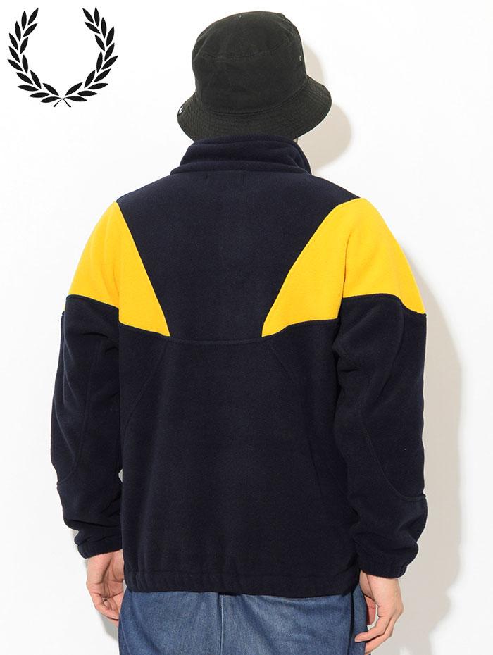 FRED PERRYフレッドペリーのジャケット Fleece Pullover03