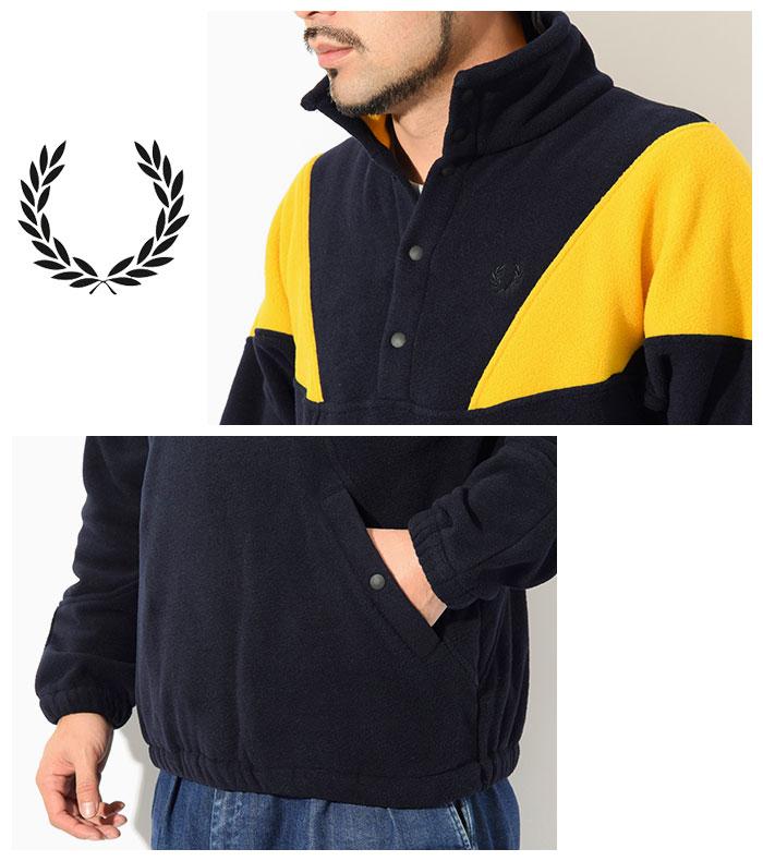 FRED PERRYフレッドペリーのジャケット Fleece Pullover04