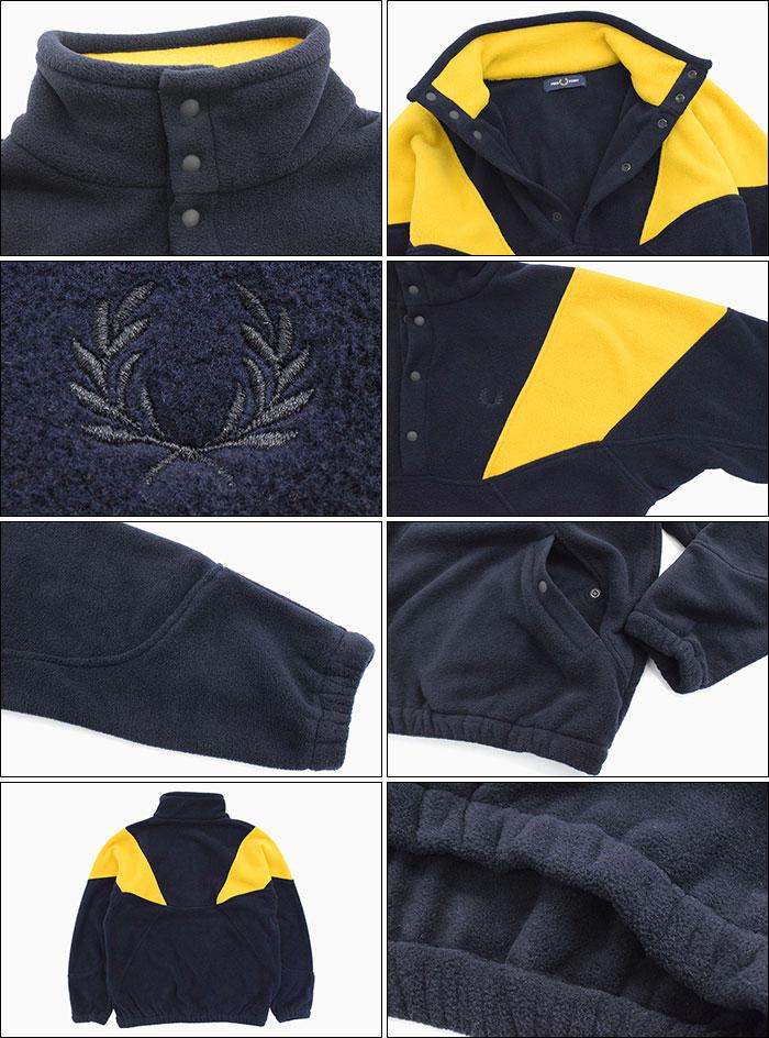 FRED PERRYフレッドペリーのジャケット Fleece Pullover05