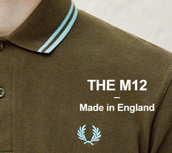 FRED PERRYフレッドペリーのポロシャツ M12N England10