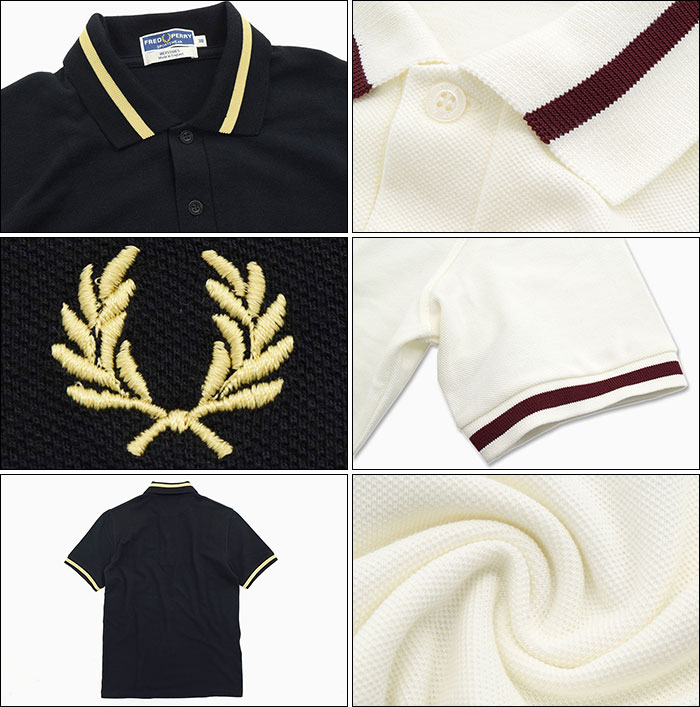 FRED PERRYフレッドペリーのポロシャツ M2 Single Tipped Fred Perry Polo Shirt05