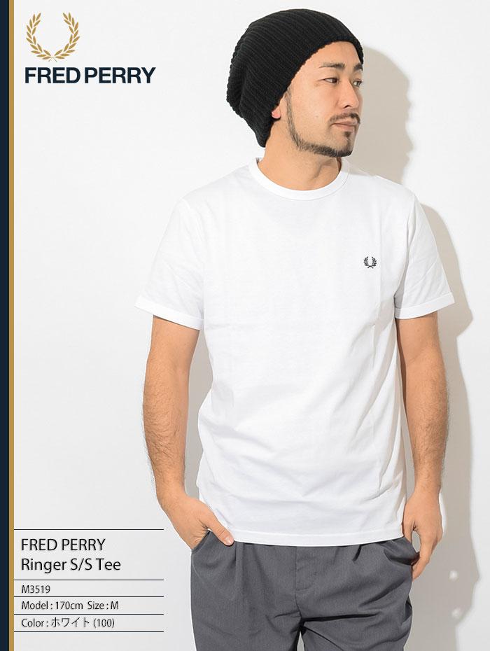 FRED PERRYフレッドペリーのTシャツ Ringer01