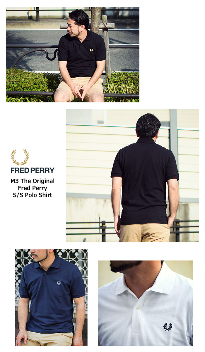 FRED PERRYフレッドペリーのポロシャツ M3N04