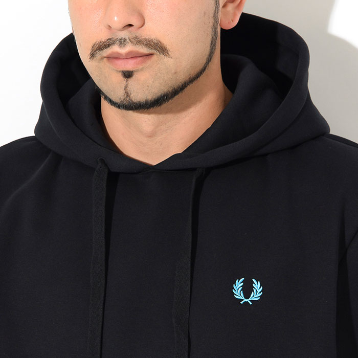 FRED PERRYフレッドペリーのパーカー Process Colour Hooded Sweat04