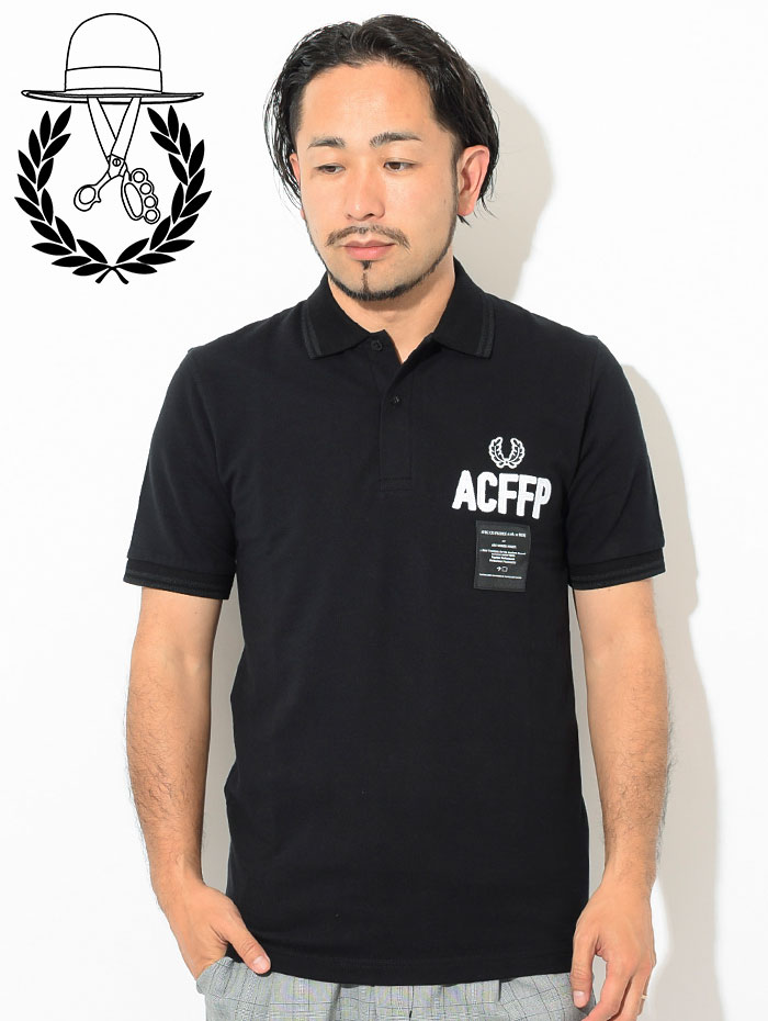FRED PERRYフレッドペリーのポロシャツ ART COMES FIRST Embroidered Fred Perry Polo Shirt03