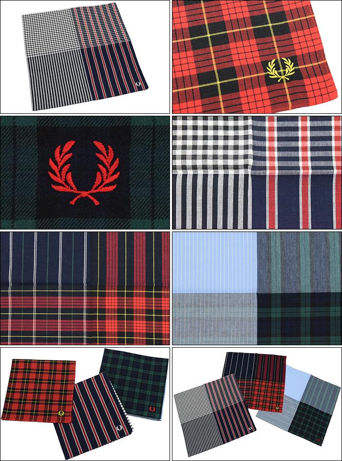 FRED PERRYフレッドペリーのハンカチ Handkerchie02