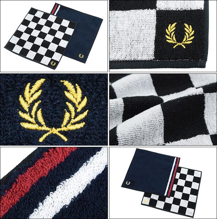 FRED PERRYフレッドペリーのハンカチ Towel Handkerchief02