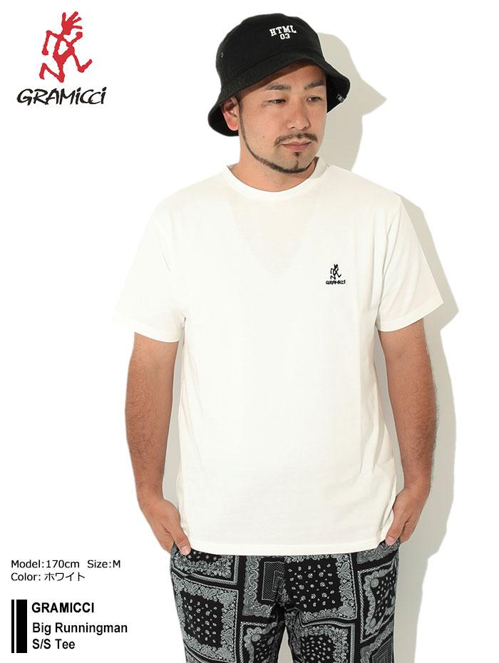 GRAMICCIグラミチのTシャツ Big Runningman01
