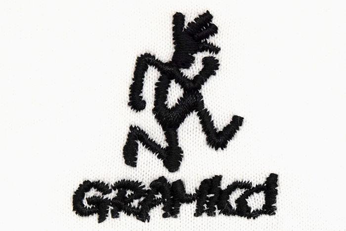 GRAMICCIグラミチのTシャツ Big Runningman08