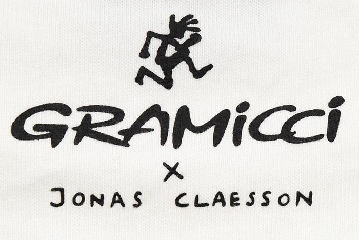 GRAMICCIグラミチのTシャツ Jonas Claesson Back Pack11