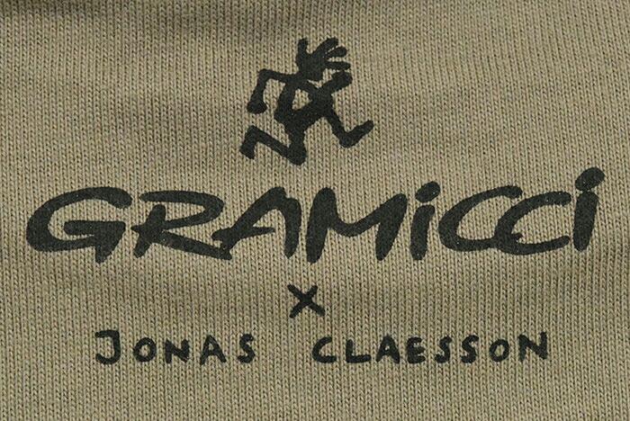 GRAMICCIグラミチのTシャツ Jonas Claesson Back Pack12