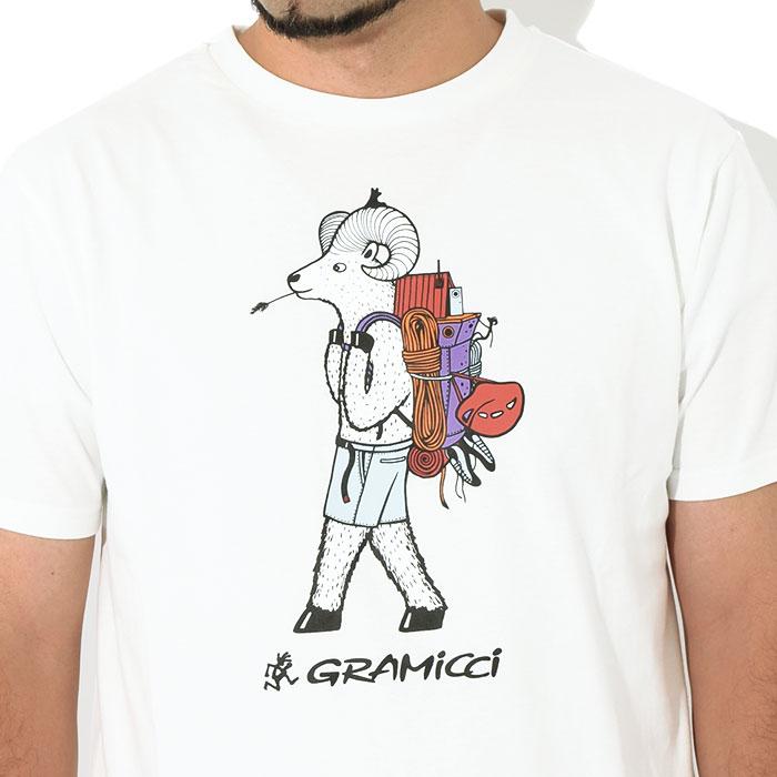 GRAMICCIグラミチのTシャツ Jonas Claesson Back Pack03