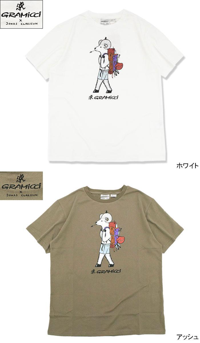 GRAMICCIグラミチのTシャツ Jonas Claesson Back Pack05