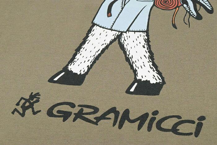 GRAMICCIグラミチのTシャツ Jonas Claesson Back Pack09
