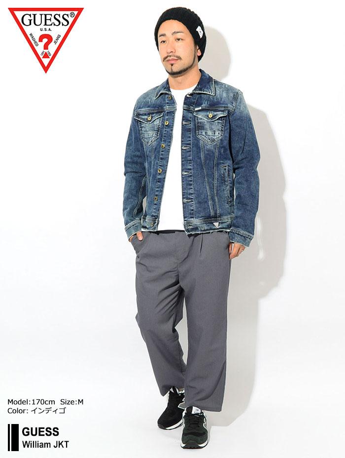 GUESSゲスのジャケット William01