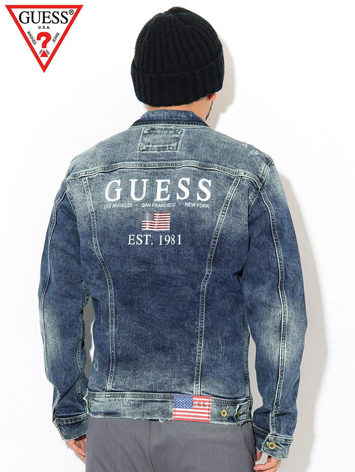 GUESSゲスのジャケット William03