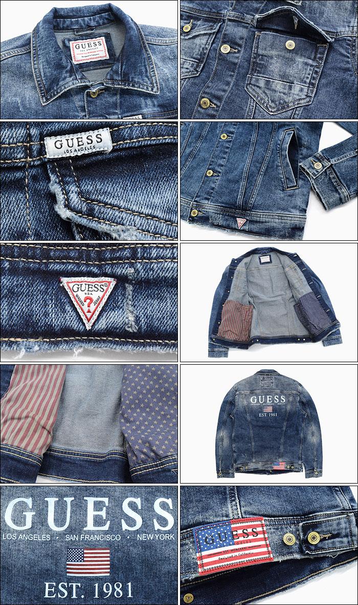 GUESSゲスのジャケット William05