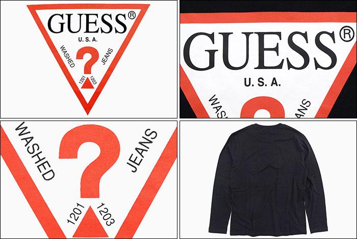 GUESSゲスのTシャツ Triangle Logo04