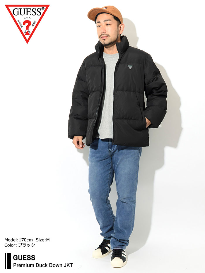 GUESSゲスのジャケット Premium Duck Down01