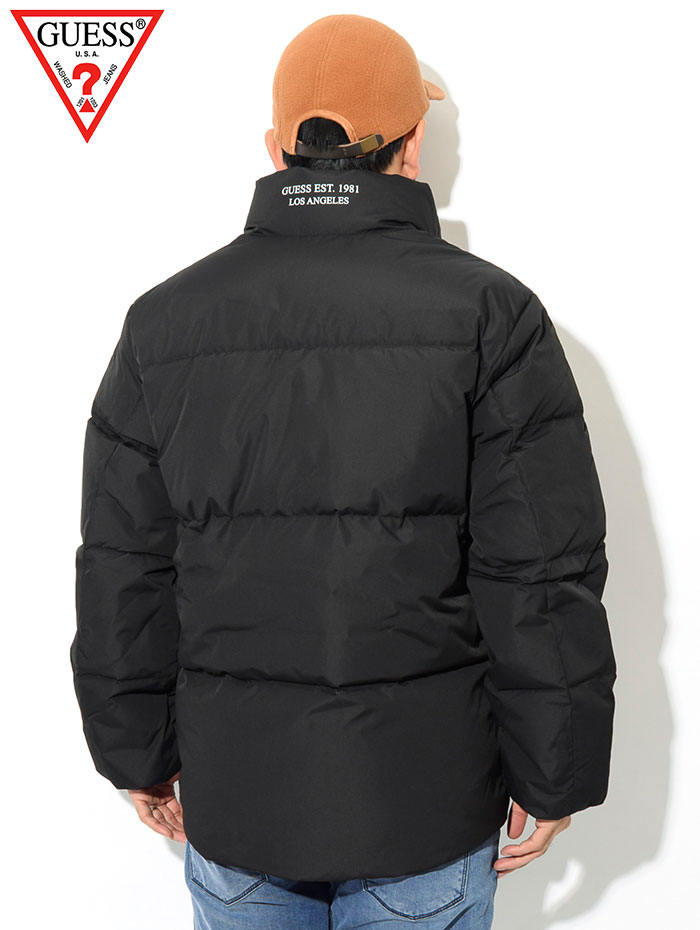 GUESSゲスのジャケット Premium Duck Down04