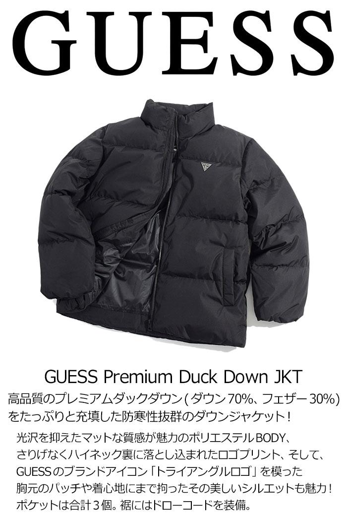 GUESSゲスのジャケット Premium Duck Down06