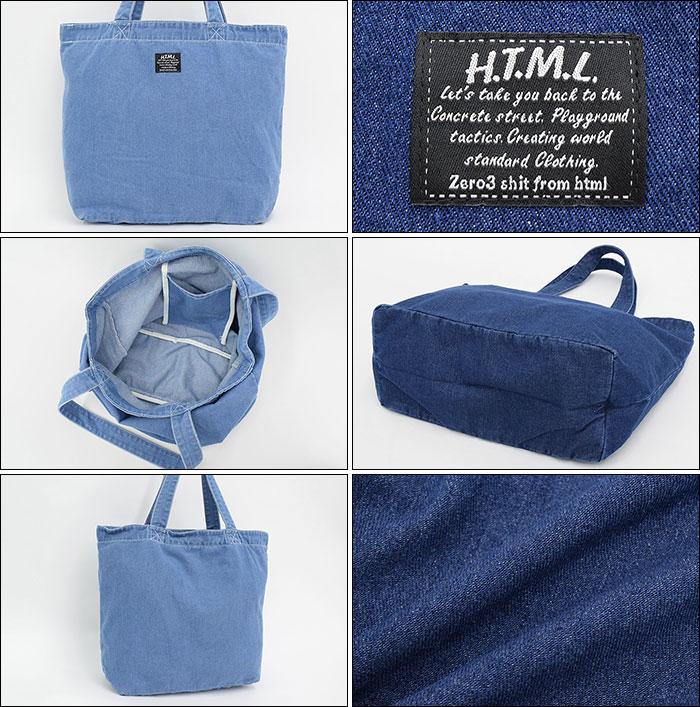 HTML ZERO3エイチティエムエル ゼロスリーのトートバッグ Hadar Tote Bag06