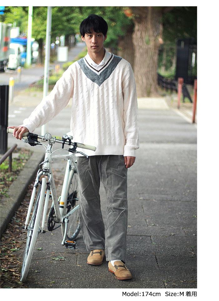 HTML ZERO3エイチティエムエル ゼロスリーのセーター Student Chiruden Knit Sweater04
