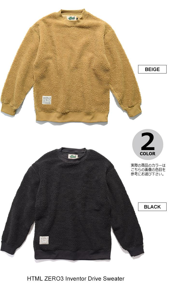 HTML ZERO3エイチティエムエル ゼロスリーのセーター Inventor Drive Sweater09
