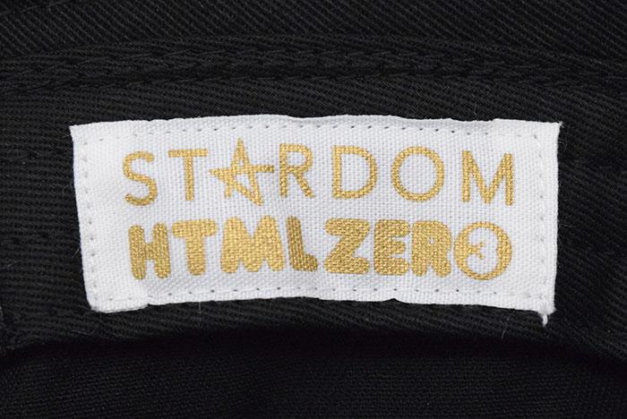 HTML ZERO3エイチティエムエル ゼロスリーのハット HTML ZERO3×STARDOM12